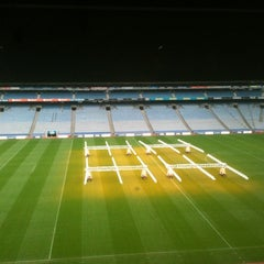 Photo taken at Croke Park by Caglar Y. on 3/8/2012