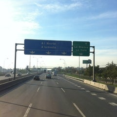 Photo taken at Autopista Central by German R. on 6/22/2012