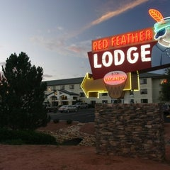 Photo taken at Red Feather Lodge Grand Canyon by Flemming C. on 8/2/2012