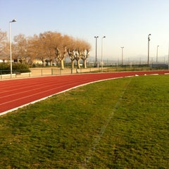 Photo taken at Stade du Fort Carré by Bern G. on 3/29/2012