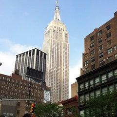 Photo taken at Hotel Indigo New York City - Chelsea by Avinash M. on 5/23/2012