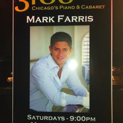 Photo taken at 3160 - Chicago's Piano & Cabaret by Bill P. on 5/13/2012
