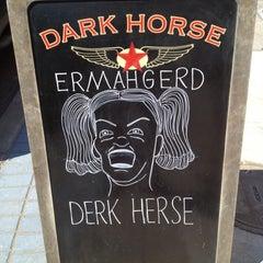 Photo taken at Dark Horse Espresso Bar by Travis S. on 9/2/2012