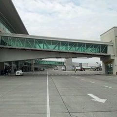 Photo taken at Aeropuerto Internacional José Joaquín de Olmedo (GYE) by Adriana A. on 4/3/2012