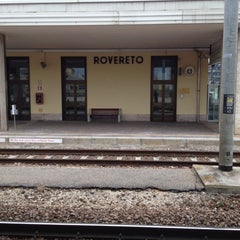 Photo taken at Stazione di Rovereto by Daniele D. on 2/11/2012