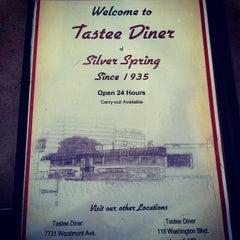Photo taken at Tastee Diner by Brian C. on 4/8/2012