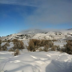 Photo taken at Slough Creek Camp Ground by Rita H. on 2/19/2012
