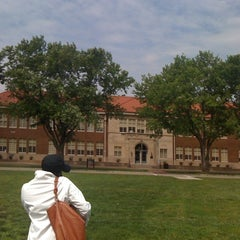 Photo taken at Brown vs. Board of Education National Historic Site by Maggie B. on 5/12/2012
