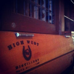 Photo taken at High West Distillery & Saloon by Brent S. on 7/12/2012