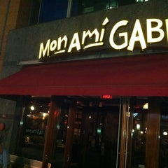 Photo taken at Mon Ami Gabi by Alex F. on 5/5/2012