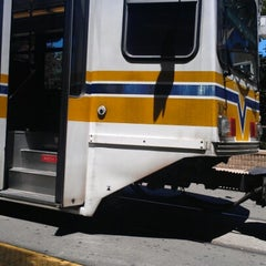 Photo taken at SACRT Light Rail 16th St Station by Eric W. on 7/2/2012