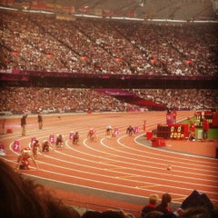 Photo taken at Olympic Stadium by Cath R. on 9/6/2012