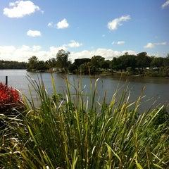Photo taken at Lyons Park by Melinda G. on 2/16/2012