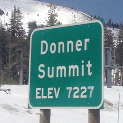 Photo taken at Donner Pass Summit by Gary M. on 4/4/2012