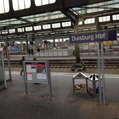 Photo taken at Gleis 12/13 by Martin S. on 3/17/2012