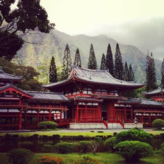 Photo taken at Byodo-In Temple by Jon on 7/31/2012