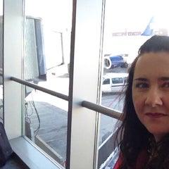 Photo taken at Gate B19 by Kat P. on 5/17/2012
