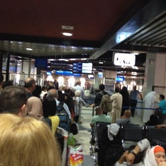 Photo taken at QAIA - Gate 11 by Gregor R. on 6/21/2012