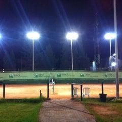 Photo taken at Tennis Club De L'Avenir Sportif De La Marsa by Mhamed B. on 8/28/2012