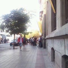 Photo taken at Universidad Alberto Hurtado by Alvaro G. on 3/23/2012