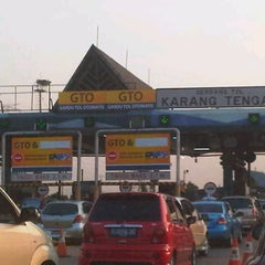 Photo taken at Gerbang Tol Tangerang by Joe H. on 8/4/2012