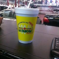 Photo taken at La Famosa by CHUY G. on 5/17/2012
