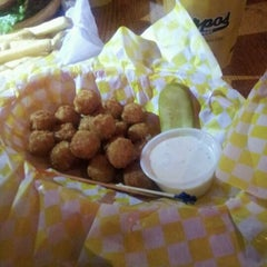 Photo taken at Harpo's by Kelsey K. on 4/8/2012