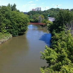 Photo taken at Discovery Walk DVP Footbridge by Andy H. on 7/29/2012
