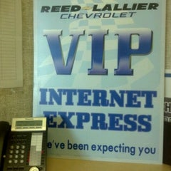 Photo taken at Reed-Lallier Chevrolet by Terry M. on 5/31/2012