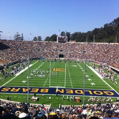 Photo taken at California Memorial Stadium by Brianna J. on 9/1/2012