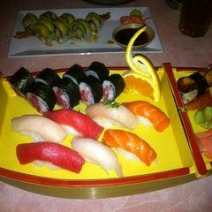 Photo taken at Sakura Sushi Japanese Restaurant by Danielle O. on 8/9/2012