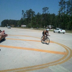 Photo taken at Ironman TX by Dustin b. on 5/19/2012
