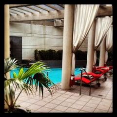 Photo taken at Hotel Derek by Billy H. on 6/6/2012
