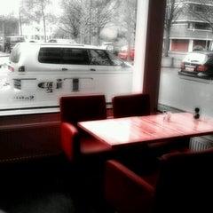 Photo taken at Broodje Tip Top by Arjen K. on 4/20/2012