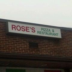 Photo taken at Rose's Pizza & Restaurant by Scott W. on 2/29/2012