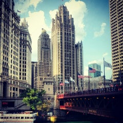 Photo taken at Chicago Riverwalk by Leah H. on 7/3/2012