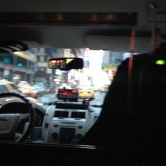 Photo taken at NYC Taxi Cab by Katie B. on 4/19/2012