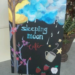 Photo taken at Sleeping Moon Cafe by Maggie H. on 9/12/2012