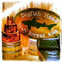 Photo taken at Dogfish Head Craft Brewery by Jennifer S. on 4/18/2012