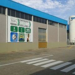 Photo taken at Nestlé Sorvetes by Fernanda S. on 5/12/2012