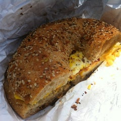 Photo taken at Brooklyn Bread Cafe by Lara Z. on 6/24/2012