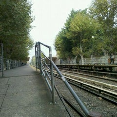 Photo taken at Estación Malaver [Línea Mitre] by Fabian L. on 4/22/2012