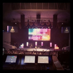 Photo taken at Dream City Church by Aaron P. on 2/13/2012