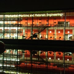 Photo taken at Faculty Mechanical, Maritime & Material Engineering by Olga K. on 3/2/2012