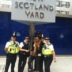 Photo taken at New Scotland Yard by Stewbean on 8/7/2012