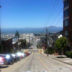 Photo taken at Fillmore Stairs by Siobhan Q. on 7/7/2012