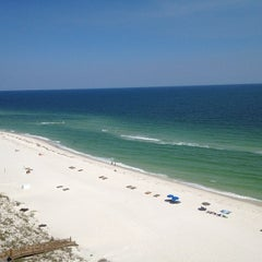 Photo taken at Perdido Key Beach by Shelby D. on 5/20/2012