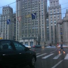 Photo taken at Смоленская-Сенная площадь by Дима on 7/21/2012