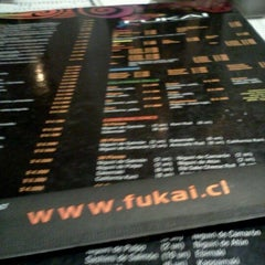 Photo taken at Fukai Sushi by Elizabeth P. on 5/1/2012