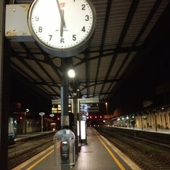 Photo taken at Stazione Lucca by Mauro C. on 9/9/2012